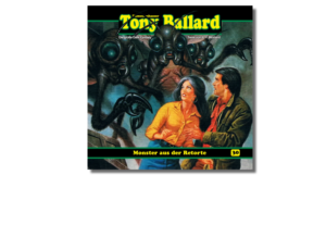Tony Ballard 30 ´monster aus der retorte´
